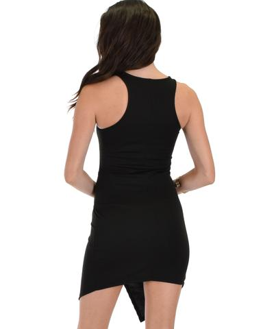 Lyss Loo Rock & Ready Black Bodycon Dress - Jeanetteshus