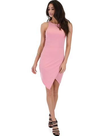 Lyss Loo Rock & Ready Pink Bodycon Dress - Jeanetteshus