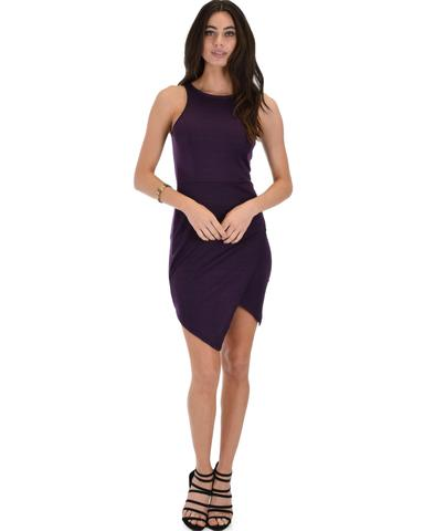 Lyss Loo Rock & Ready Purple Bodycon Dress - Jeanetteshus