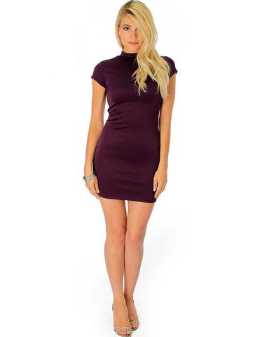 Lyss Loo Show Off Purple Bodycon Dress - Jeanetteshus