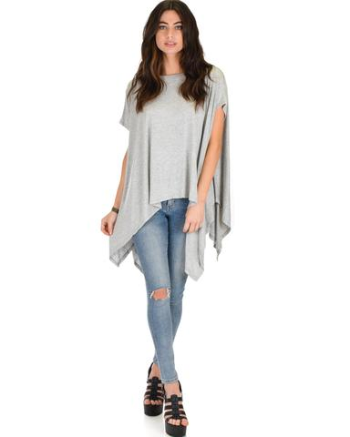 Somedays Lovin' Comfort Over-sized Draped Tunic Top
